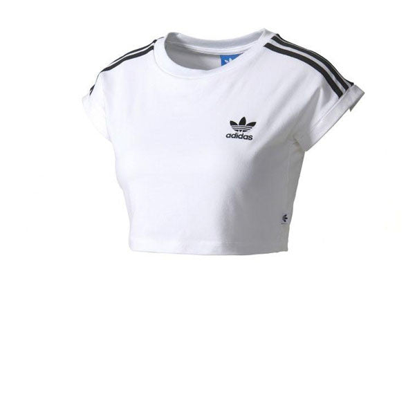 Adidas Cropped Top White - Kong Online - 1