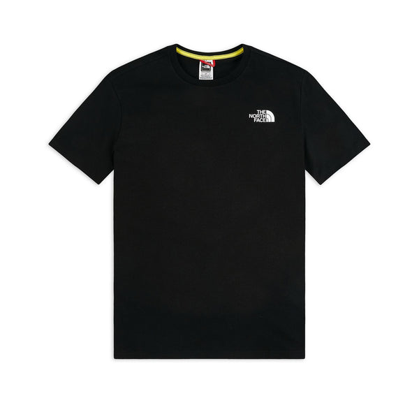 The North Face SS Rainbow Tee Black