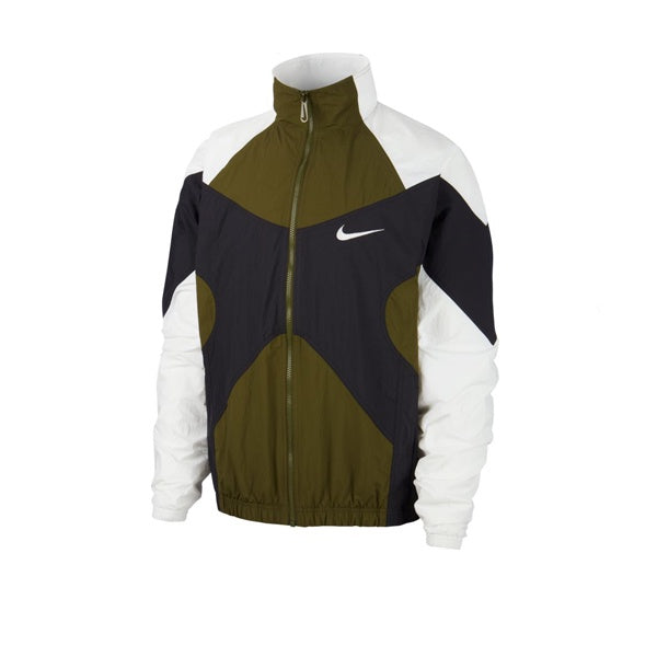 Nike Re-Issue Woven Jacket Legion Green White Black