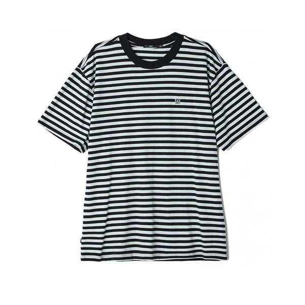 Obey 89 Icon Stripe Box Tee II SS SP20 Black Multi