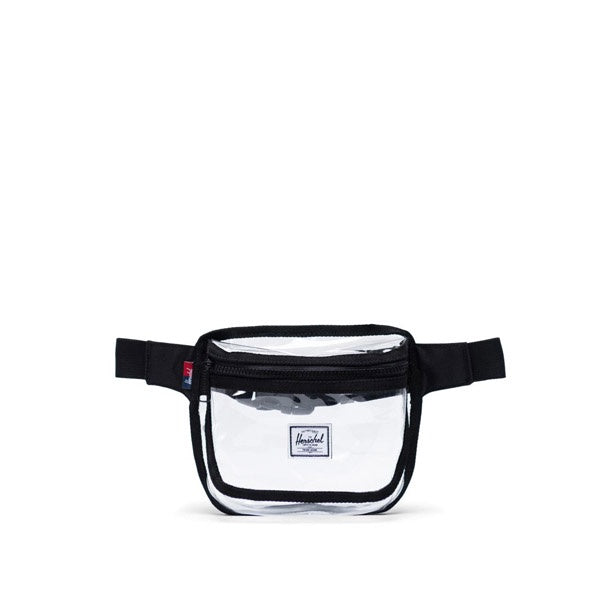 Herschel Clear Bag Fifteen Black Clear