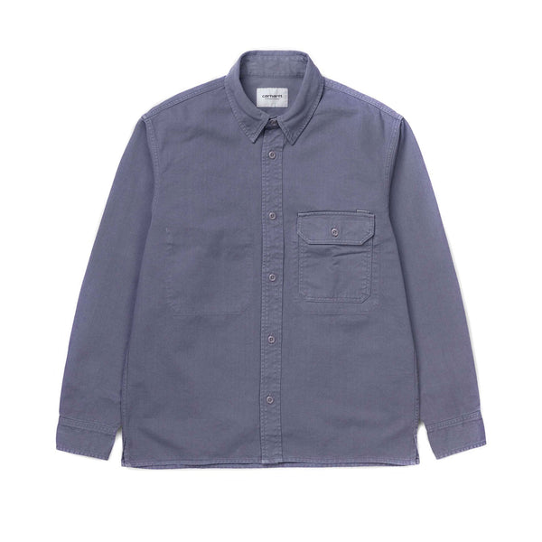 Carhartt L/S Reno Shirt Decent Purple