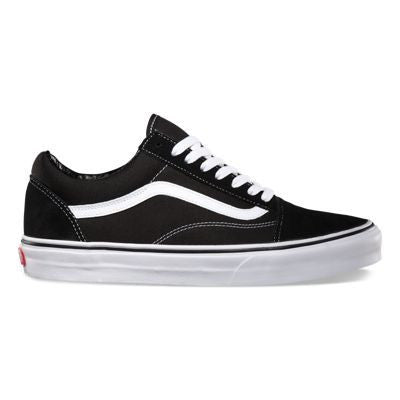 Vans Old Skool Black White - Kong Online