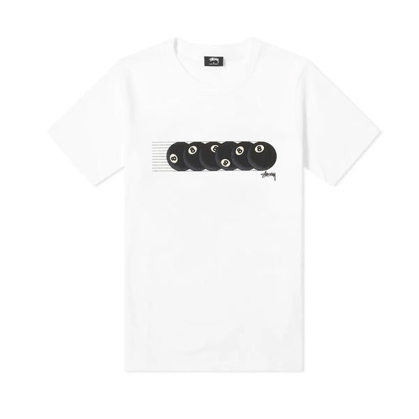 Stussy Rollin' Tee White