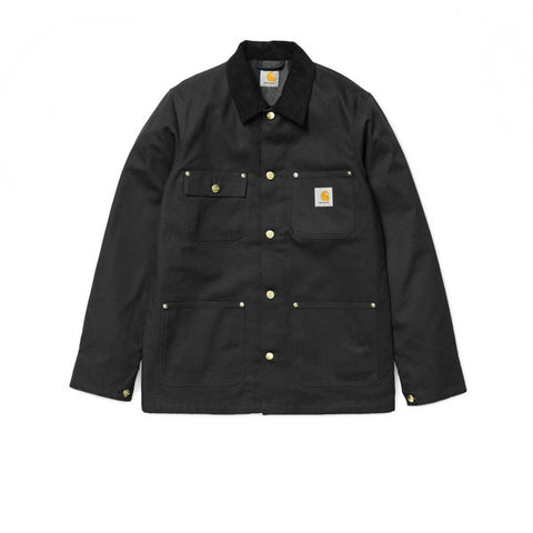 Carhartt Michigan Chore Coat Black Rigid - Kong Online - 1