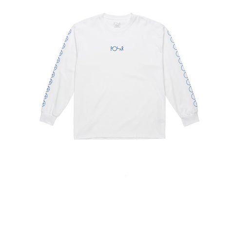 Polar Racing Longsleeve White