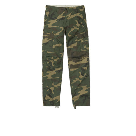 Carhartt Aviation Pant Camo Laurel Rinsed