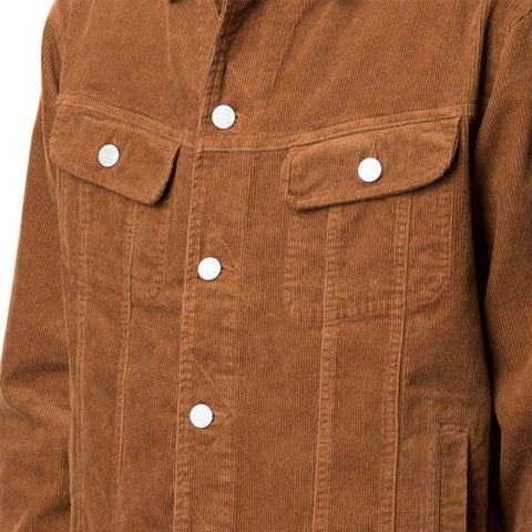 Stussy Corduroy Trucker Jacket Tan