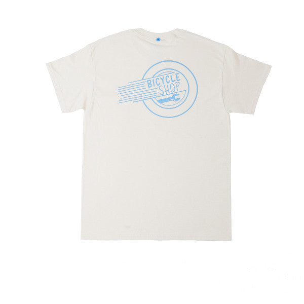 FNKST Bicycle Shop Tee Sand - Kong Online - 2