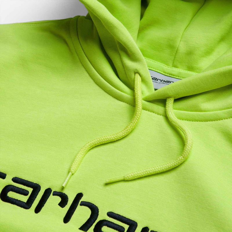 Carhartt Hooded Carhartt Sweat Lime Black