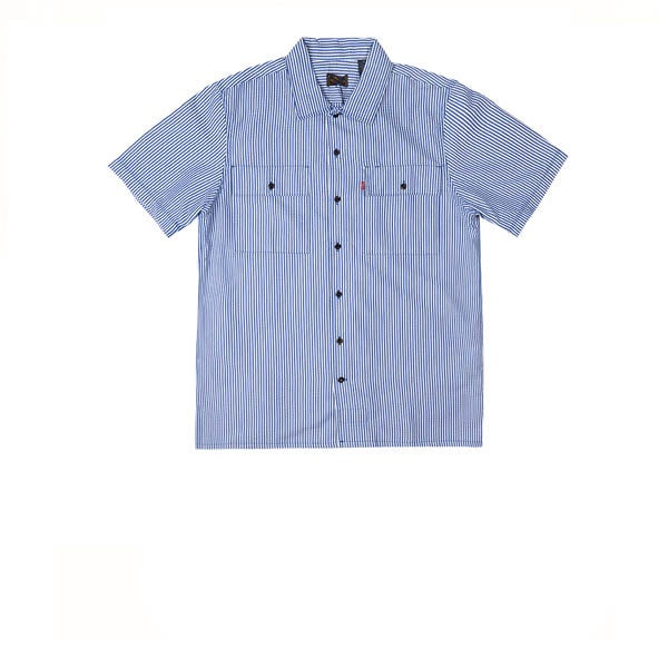Levis Skate S/S Button Down SE True Blue