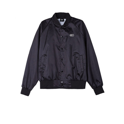 Obey I See Static Jacket Black