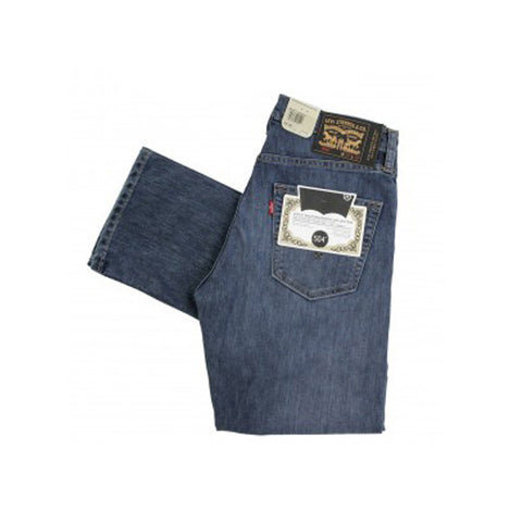 Levi's Skate 504 Straight 5 Pocket SE Turk Blue Washed - Kong Online - 2