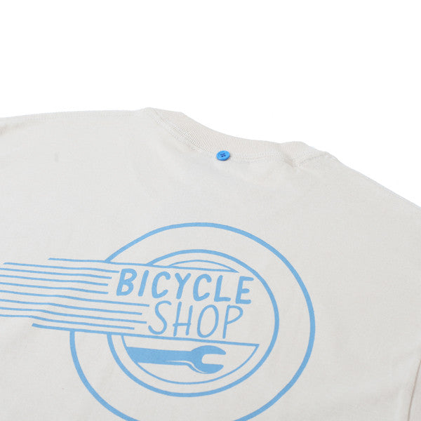 FNKST Bicycle Shop Tee Sand - Kong Online - 3