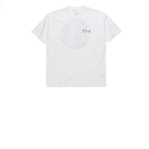 Polar Secrets Fill Logo Tee White