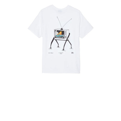 Stussy L.A Riots Tee White