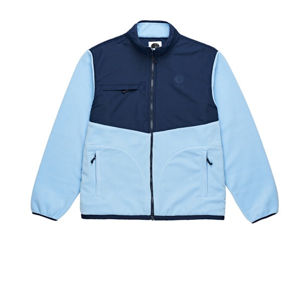 Polar Halberg Fleece Jacket Navy Powder Blue