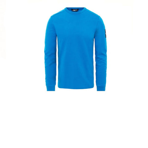 The North Face L/S Fine 2 Tee Bomber Blue