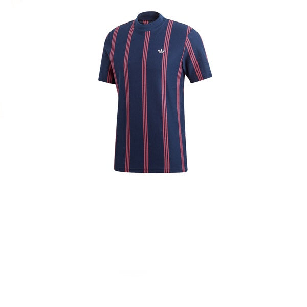 Adidas Stand Collar Tee Night Indigo