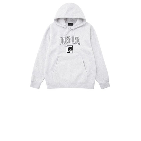 Obey Obey Int Hood Ash Grey