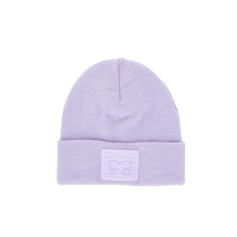 Levi's® 2 Horse Patch Logo Beanie Light Purple