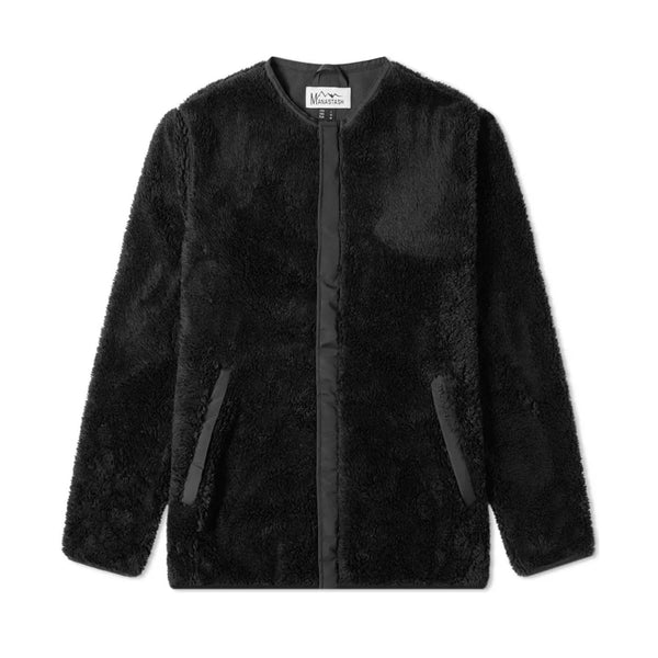 Manastash Bigfoot Fleece Jacket Black