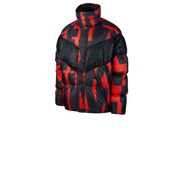 Nike Down Fill Jacket Habanero Red Black
