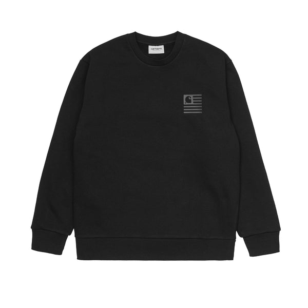 Carhartt WIP State Sweat Black