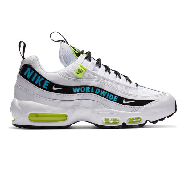 Nike Air Max 95 SE White/Blue Fury-Volt-Black