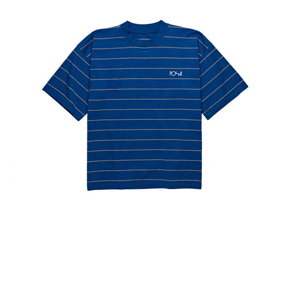 Polar Checkered Surf Tee Blue