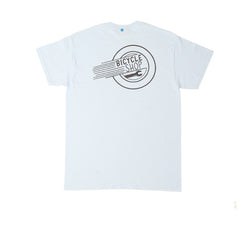 FNKST Bicycle Shop Tee Light Blue - Kong Online - 2