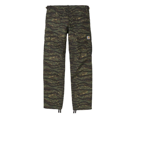 Carhartt Aviation Pant Camo Tiger Jungle Rinse