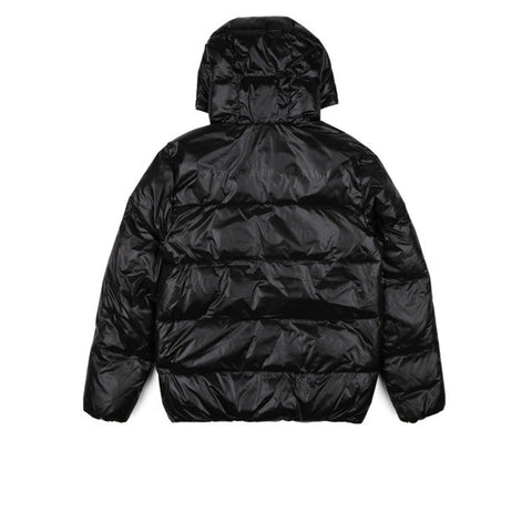BBC Hooded Puffa Jacket Black - Kong Online - 2