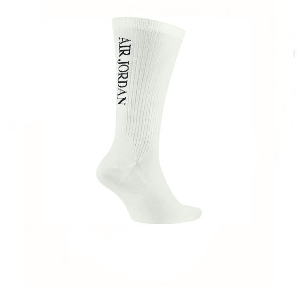 Air Jordan 9 Crew Sock White