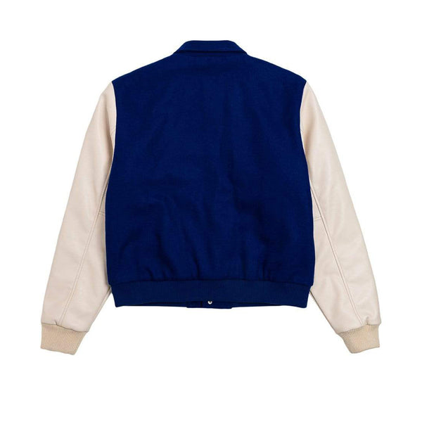 ALIFE Varsity Jacket Blue/Cream