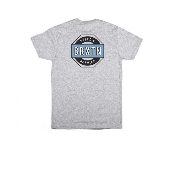 Brixton Octane S/S Standard Tee Heather Grey