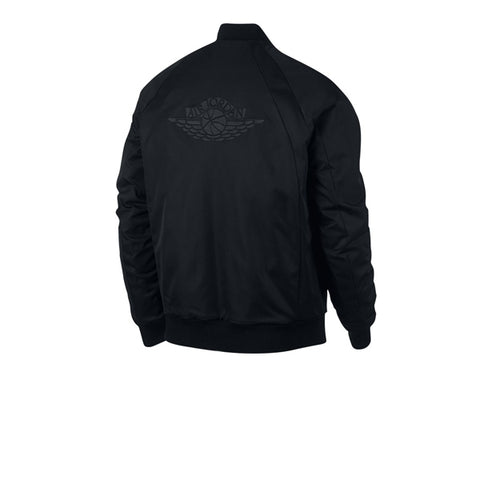Air Jordan Wings MA-1 Jacket Black