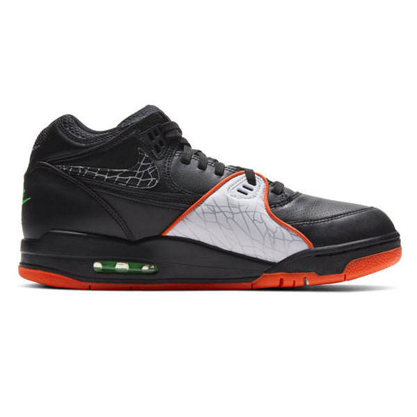 Nike Air Flight 89 QS Black Orange Blaze Green Strike White