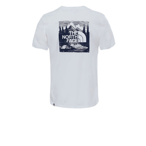 The North Face S/S Redbox Cel Tee SFT TNF White