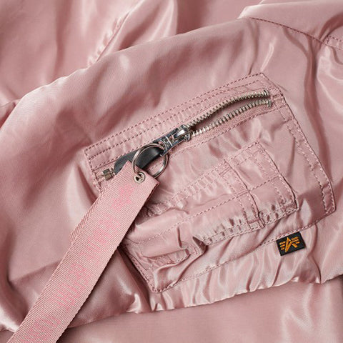 Alpha Industries MA1 VF Sliver Pink