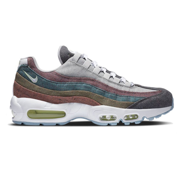 Nike Air Max 95 NRG Vast Grey/White-Barely Volt