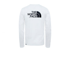 The North Face L/S Easy Tee TNF White