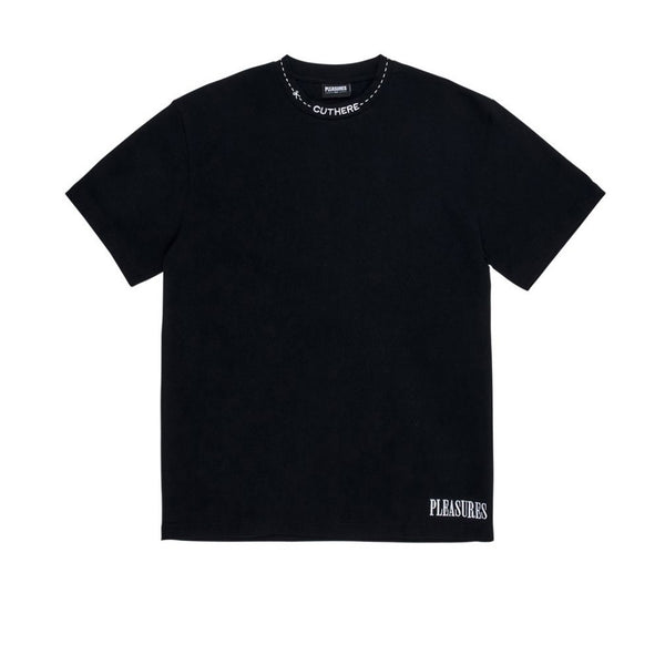 Pleasures Cut Here Heavy Weight Shirt Black