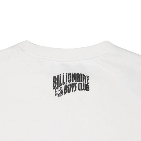 Billionaire Boys Club Pyramid Crewneck White