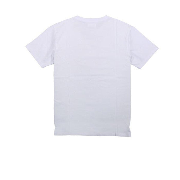 WOOD WOOD Concrete Square T-Shirt White - Kong Online - 2
