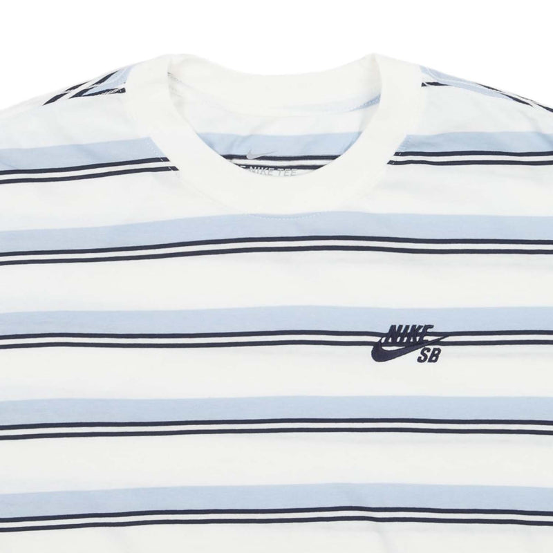 Nike SB Striped Skate Tee Sail/Mystic Navy