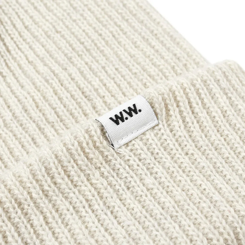 WOOD WOOD Mande Beanie Off White