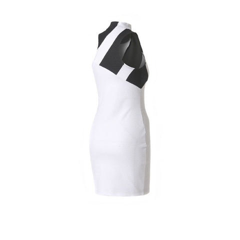 Adidas Mesh Dress White Black - Kong Online - 2