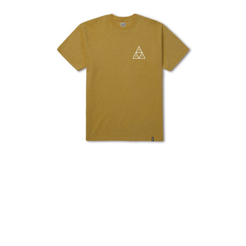 HUF Essentials TT S/S T-Shirt Honey Mustard