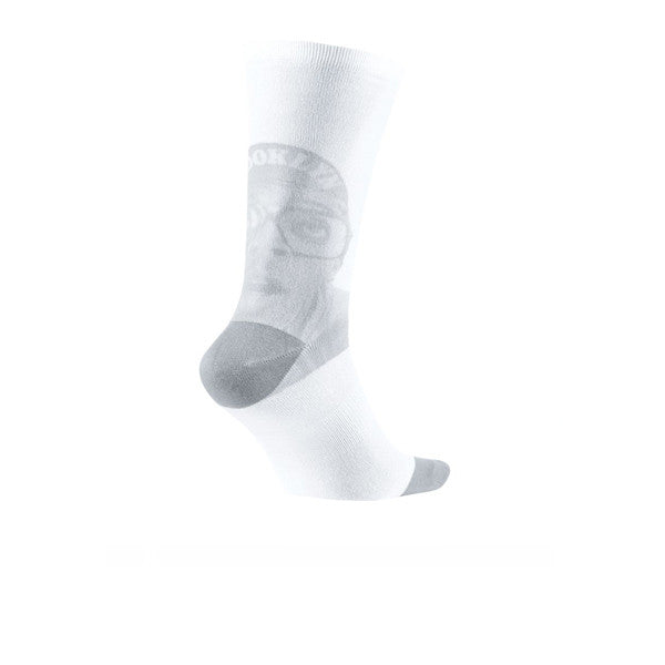 Air Jordan 4 Crew Socks White Grey